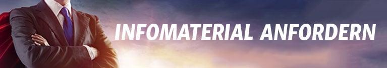 Infomaterial anfordern Banner - Berater